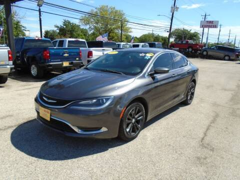 2015 Chrysler 200 for sale at BAS MOTORS in Houston TX