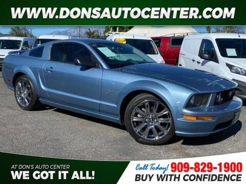 2006 Ford Mustang for sale at Dons Auto Center in Fontana CA