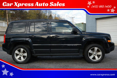 2014 Jeep Patriot for sale at Car Xpress Auto Sales in Pittsburgh PA