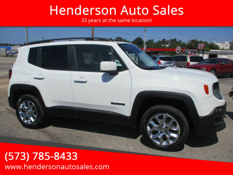 2015 Jeep Renegade for sale at Henderson Auto Sales in Poplar Bluff MO