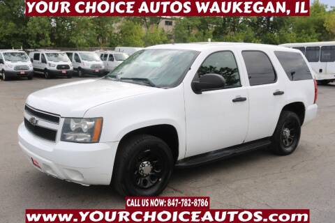 2011 Chevrolet Tahoe for sale at Your Choice Autos - Waukegan in Waukegan IL