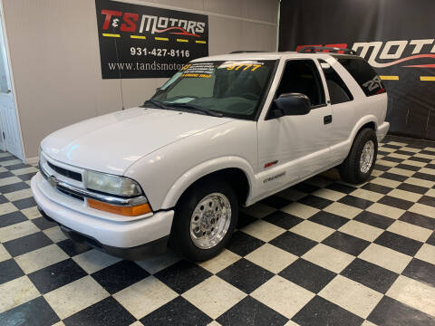 2003 Chevrolet Blazer for sale at T & S Motors in Ardmore TN