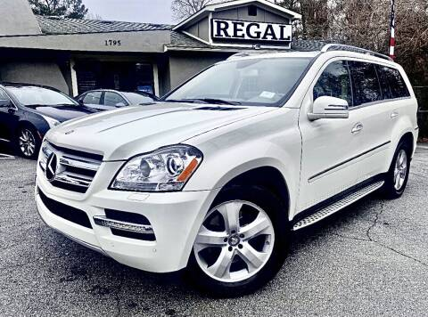 2012 Mercedes-Benz GL-Class for sale at Regal Auto Sales in Marietta GA