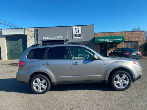 2009 Subaru Forester for sale at 57 AUTO in Feeding Hills MA
