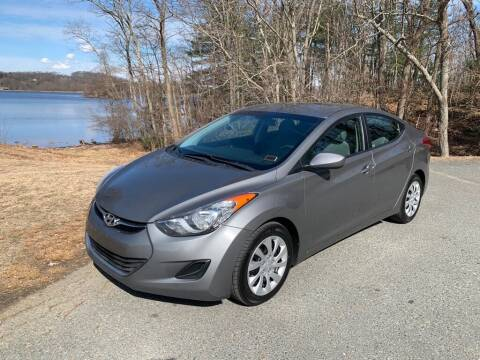 2013 Hyundai Elantra for sale at Elite Pre-Owned Auto in Peabody MA