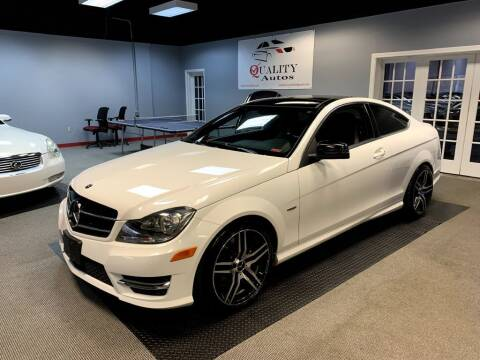 2013 Mercedes-Benz C-Class for sale at Quality Autos in Marietta GA