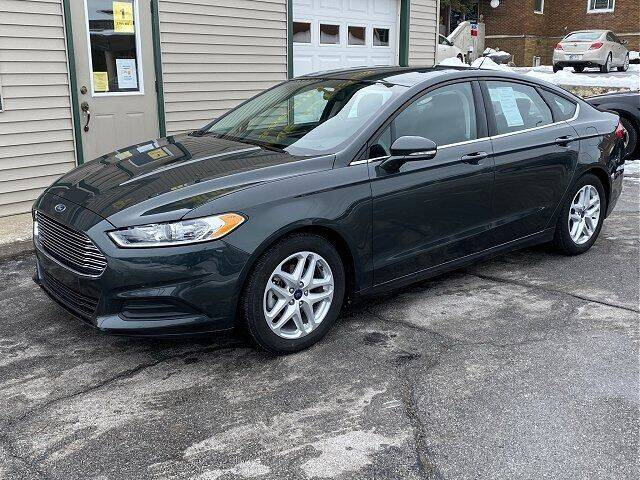 2016 Ford Fusion for sale at Sunshine Auto Sales in Huntington IN