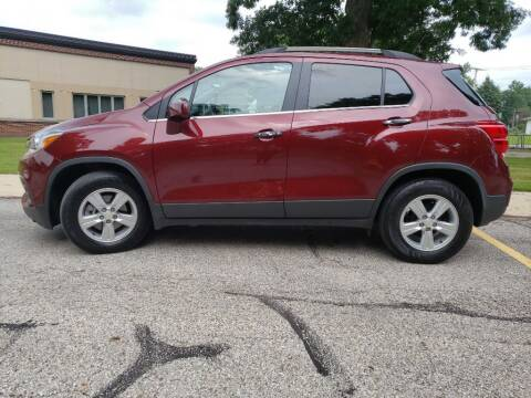 2017 Chevrolet Trax for sale at The Car Mart in Milford IN