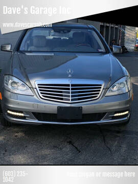 2012 Mercedes-Benz S-Class for sale at Dave's Garage Inc in Hampton Beach NH