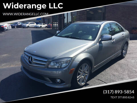 2008 Mercedes-Benz C-Class for sale at Widerange LLC in Greenwood IN