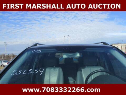 2005 Mercedes-Benz M-Class for sale at First Marshall Auto Auction in Harvey IL