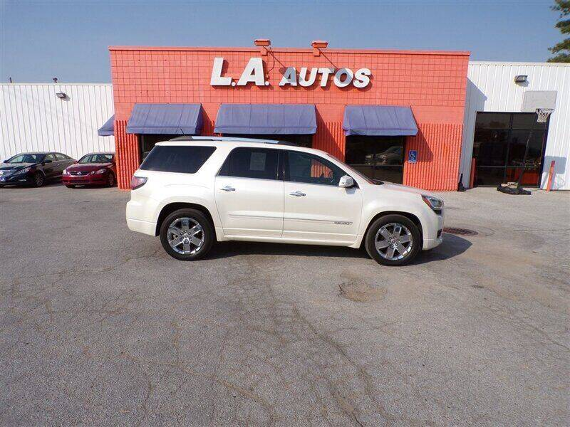 2013 GMC Acadia for sale at L A AUTOS in Omaha NE