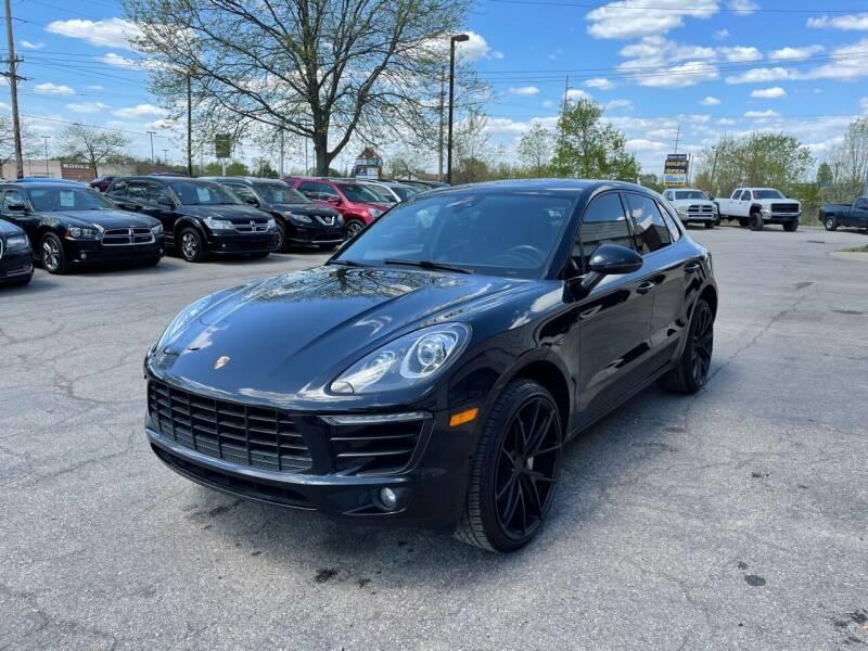 2017 Porsche Macan for sale at Dean's Auto Sales in Flint MI