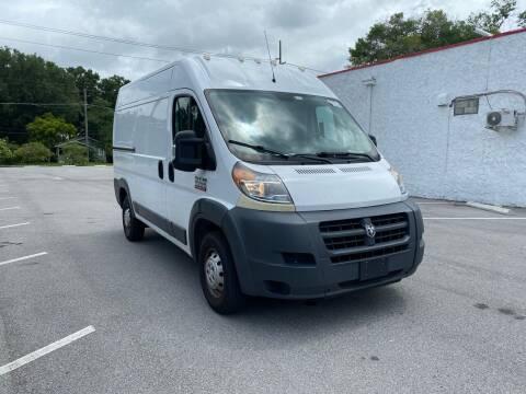 2018 RAM ProMaster Cargo for sale at Consumer Auto Credit in Tampa FL