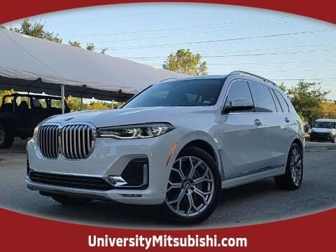 2019 BMW X7 for sale at University Mitsubishi in Davie FL