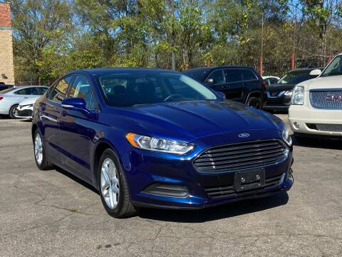 2014 Ford Fusion for sale at Car Source in Detroit MI