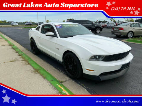 2012 Ford Mustang for sale at Great Lakes Auto Superstore in Waterford Township MI
