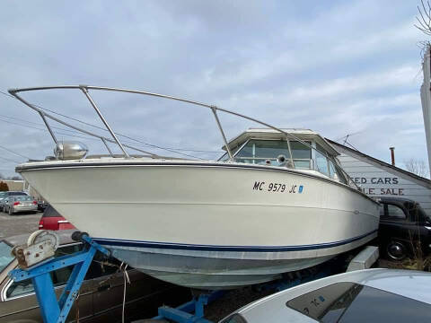 1986 Sea Ray 26ft boat for sale at EHE Auto Sales in Marine City MI