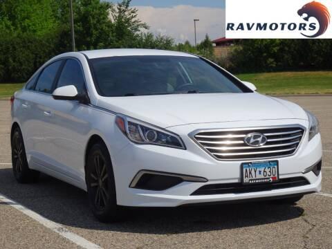 2016 Hyundai Sonata for sale at RAVMOTORS in Burnsville MN