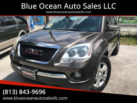 2008 GMC Acadia for sale at Blue Ocean Auto Sales LLC in Tampa FL