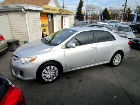 2012 Toyota Corolla for sale at American Auto Group Now in Maple Shade NJ