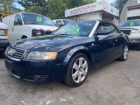 2004 Audi A4 for sale at Deleon Mich Auto Sales in Yonkers NY