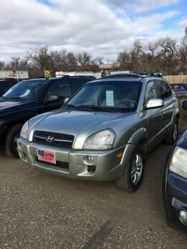 2008 Hyundai Tucson for sale at L & J Motors in Mandan ND