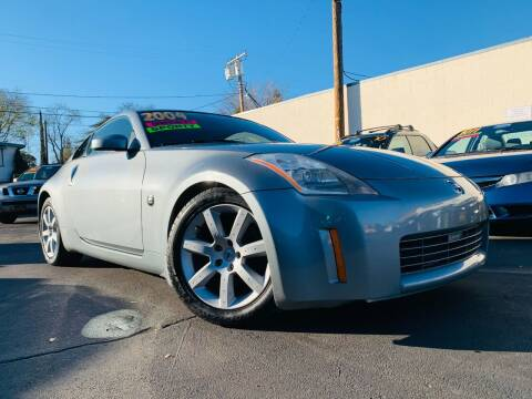 2004 Nissan 350Z for sale at Alpha AutoSports in Roseville CA