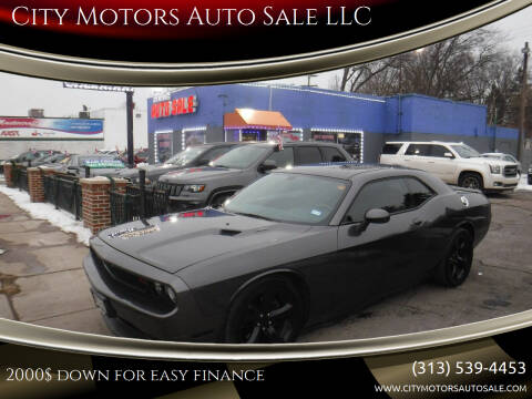 2014 Dodge Challenger for sale at City Motors Auto Sale LLC in Redford MI