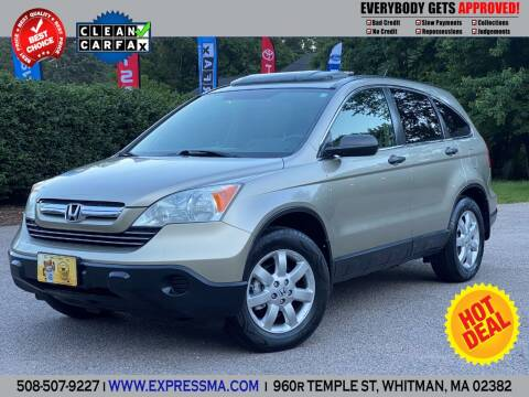 2007 Honda CR-V for sale at Auto Sales Express in Whitman MA