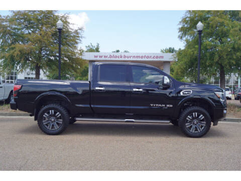 2020 Nissan Titan XD for sale at BLACKBURN MOTOR CO in Vicksburg MS