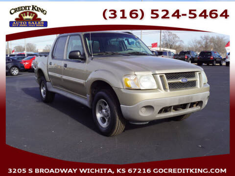 2003 Ford Explorer Sport Trac for sale at Credit King Auto Sales in Wichita KS