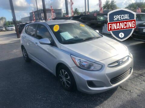 2016 Hyundai Accent for sale at MACHADO AUTO SALES in Miami FL