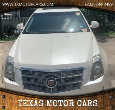 2010 Cadillac CTS for sale at TEXAS MOTOR CARS in Houston TX
