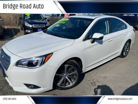 2015 Subaru Legacy for sale at Bridge Road Auto in Salisbury MA