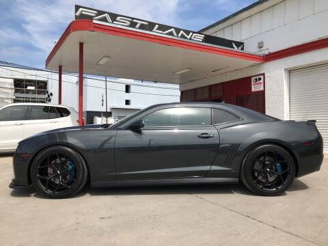2012 Chevrolet Camaro for sale at FAST LANE AUTO SALES in San Antonio TX