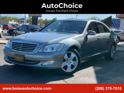 2007 Mercedes-Benz S-Class for sale at AutoChoice in Boise ID