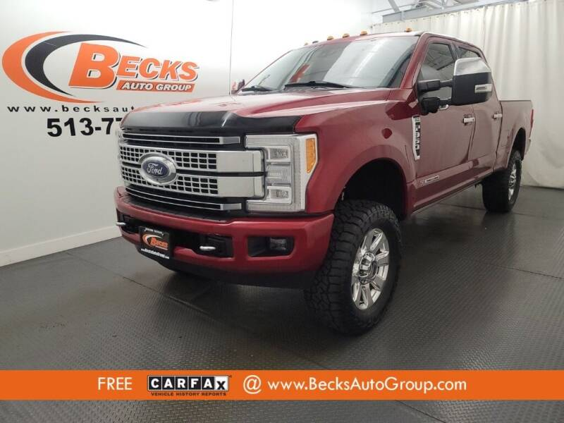 2017 Ford F-350 Super Duty for sale at Becks Auto Group in Mason OH