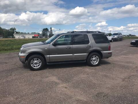 2002 Mercury Mountaineer for sale at BLAESER AUTO LLC in Chippewa Falls WI