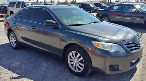 2010 Toyota Camry for sale at 4 U MOTORS in El Paso TX