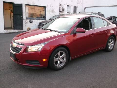 2014 Chevrolet Cruze for sale at Topchev Auto Sales in Elizabeth NJ