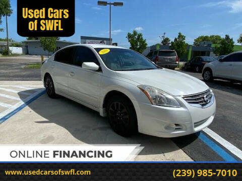 2010 Nissan Altima for sale at Used Cars of SWFL in Fort Myers FL