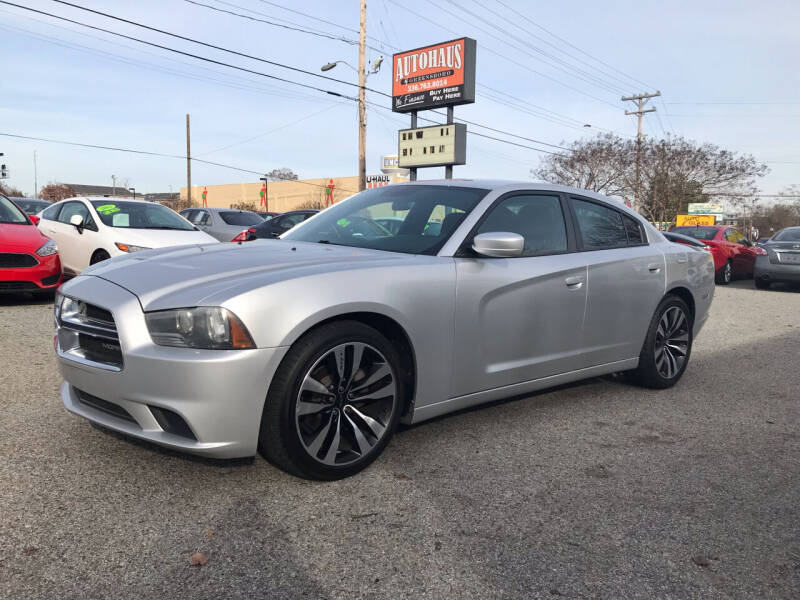 2012 Dodge Charger for sale at Autohaus of Greensboro in Greensboro NC