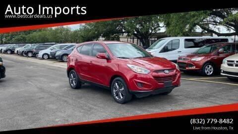 2015 Hyundai Tucson for sale at Auto Imports in Houston TX