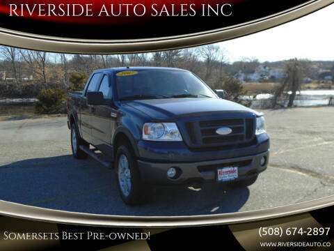 2007 Ford F-150 for sale at RIVERSIDE AUTO SALES INC in Somerset MA