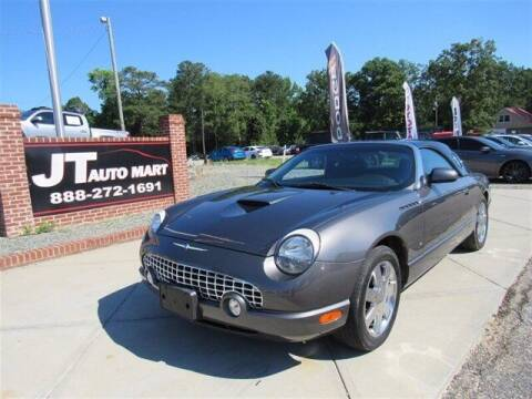 2003 Ford Thunderbird for sale at J T Auto Group in Sanford NC