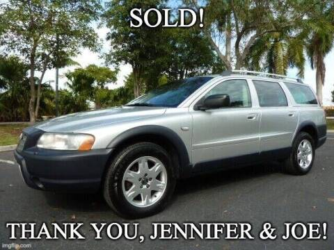 2006 Volvo XC70 for sale at VehicleVille in Fort Lauderdale FL
