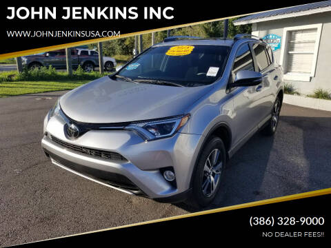 2018 Toyota RAV4 for sale at JOHN JENKINS INC in Palatka FL