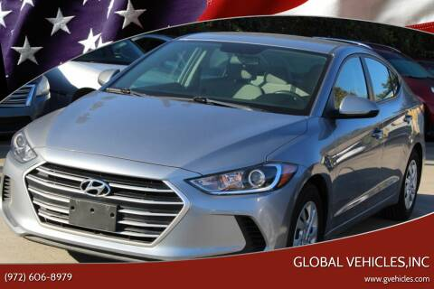 2017 Hyundai Elantra for sale at Global Vehicles,Inc in Irving TX