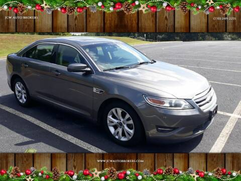 2011 Ford Taurus for sale at JCW AUTO BROKERS in Douglasville GA